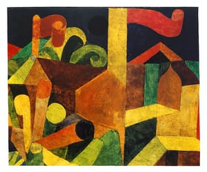 1915, paul klee, and hannover image