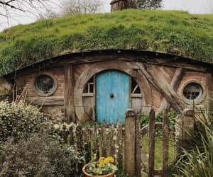 door, garden, and jrr tolkien image