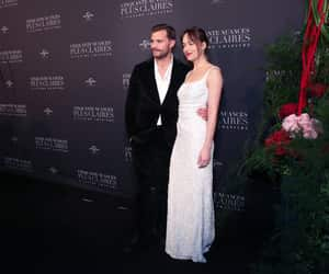 dress, fiftyshades, and dakotajohnson image