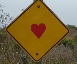 heart, yellow, and aesthetic image