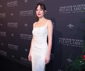 woman, dress, and fiftyshades image