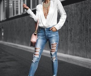 blouse, casual, and fashion image