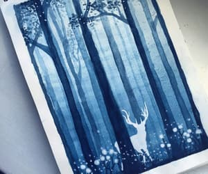 aesthetic, creative, and deer image