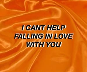 aesthetic, orange, and quotes image