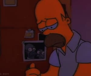 aesthetic, grunge, and homer simpson image
