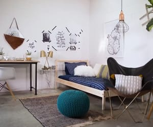 dorm, room, and college dorm image
