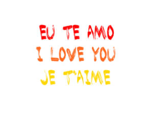 frase, I Love You, and je t'aime image