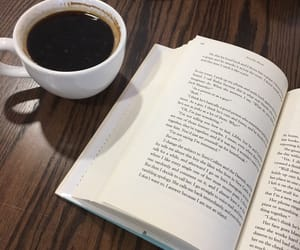 americano, book, and cafe image