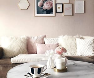 decor, home, and pillow image