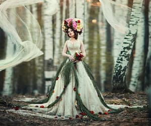 fairytale, medieval, and princess image