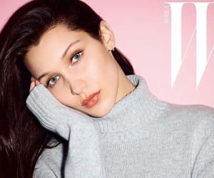 bella hadid, model, and women crush image