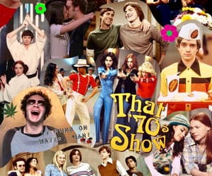 donna, michael, and 70s show image
