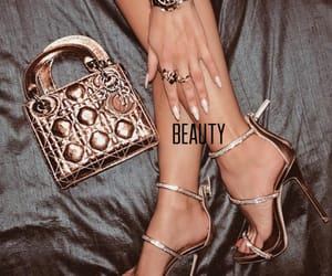 beauty and gold image
