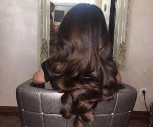 beautiful, brunette, and brunnette image