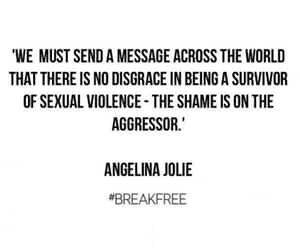 Angelina Jolie, sexual abuse, and sexual assault image
