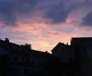 beauty and sunset image