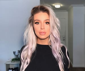 youtube, tana mongeau, and blonde image