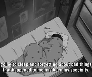 sleep, sad, and anime image