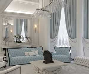 blue, home, and luxury image
