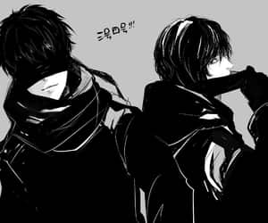 anime, blindfold, and yorha image