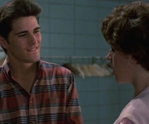 sixteen candles, 90s, and movie image