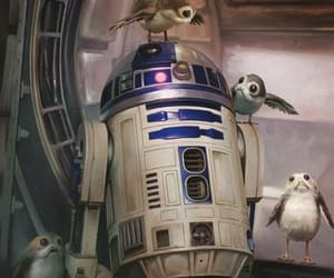 r2d2, star wars, and the last jedi image
