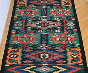 eco-friendly, vintage rugs, and hand woven rug image
