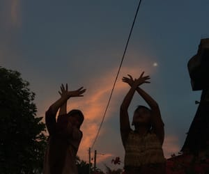 family, sky, and indonesian image