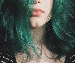 alternative, girl, and green image