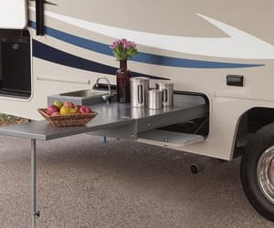 rv awning screen room, carefree screen room, and rv add a room image