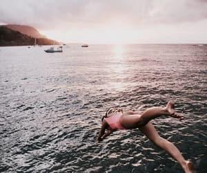 beautiful, swimm, and chill image