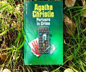 agatha christie, book, and partners in crime image