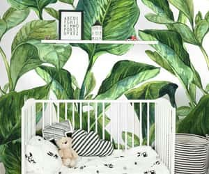 baby, decoration, and green image
