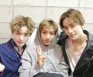 nct, jungwoo, and chenle image