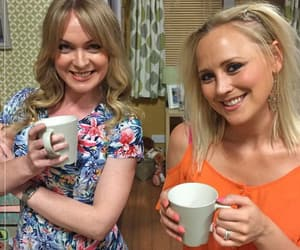 actresses, itv, and on-screen sisters image