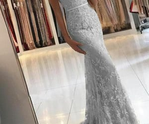 lace dress, Prom, and prom 2k18 image