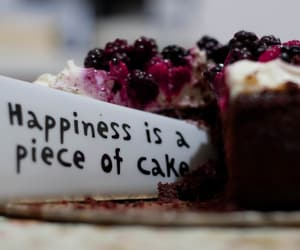 cake, dessert, and happiness image