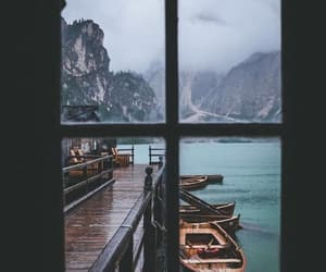 beautiful, boat, and landscape image