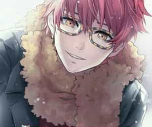 mystic messenger, boy, and handsome image