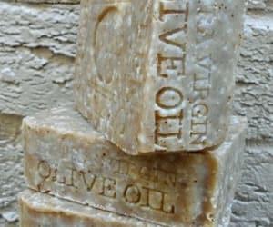 handmade, greek olive oil soap, and natural soap image