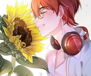 aesthetic, manga, and scenary image
