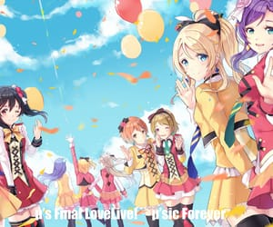anime, girls, and idol image