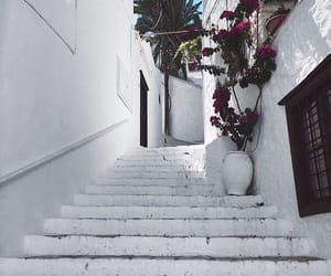 Greece, greek, and white image