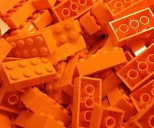 orange, aesthetic, and lego image