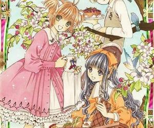 sakura kinomoto, anime, and kawaii image