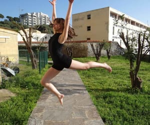 air, dancer, and ballet image