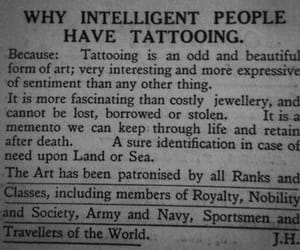 tattoo, art, and intelligent image