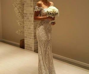 bride, fashion, and beauty image