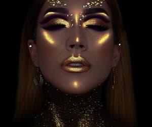 fashion, lips, and maquiagem image