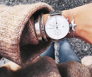 fashion, street style, and montre image